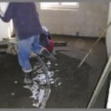 Strojově hlazené betony