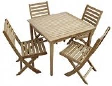 Zahradní nábytek z dřeviny Teak