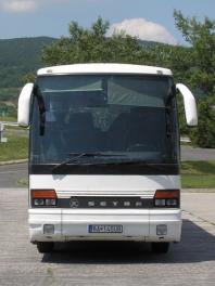 Prepravné služby - SETRA S 250 SPECIAL pre 49 cestujúcich (49 + 2 + vodič)