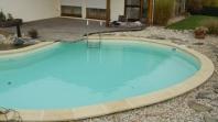 Betonové foliové bazény