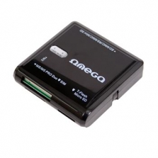 Omega čtečka paměťových karet + slot na SIM kartu