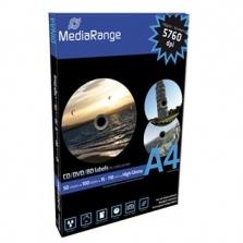 Etikety na CD Mediarange CD/DVD