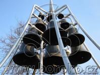 Zvonkohra Brodek u Přerova - 22 zvonů o hmotnosti 1.349 kg