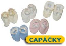 Capáčky pro kojence