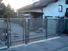 Dvoukřídlé automatické brány