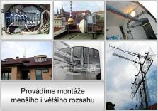 Montáže a opravy satelitní a televizní techniky