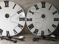 Renovace hodinových číselníků, hodinových a minutových ručiček