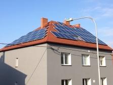 Obytný dům Ostrava - Mar. Hory 13,5kWp