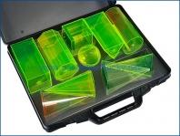 Učební pomůcky - Geometrické tvary 15 cm v kufříku