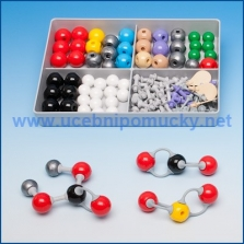 Molymod anorganická/organická chemie – studentská sada