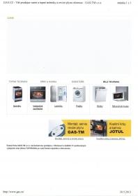 Predaj náhradných dielov na bielu techniku