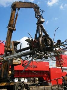 Zpracování ocelového šrotu