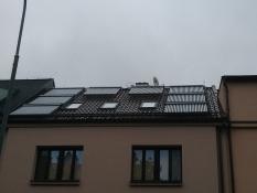 Instalace solárních systémů