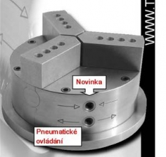 Pneumatické sklíčidlo