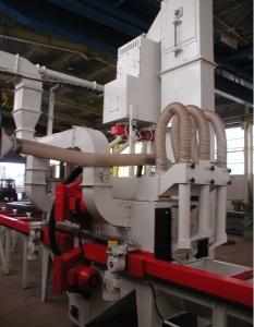 Automatické tryskací stroj průběžný 4D 750x500