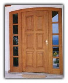 Dřevěná okna, dřevěné dveře