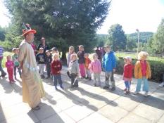 Pan král promlouvá k dětem :-)