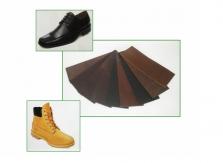 Úpravářské prostředky pro obuvnické vrchové materiály