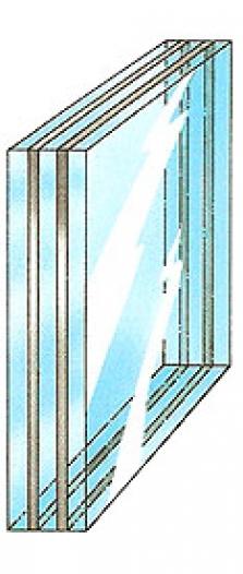 Vrstvená protipožární skla
