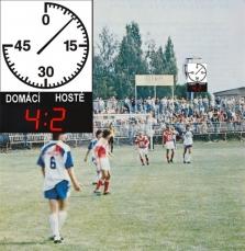 Fotbalové hodiny HS.250
