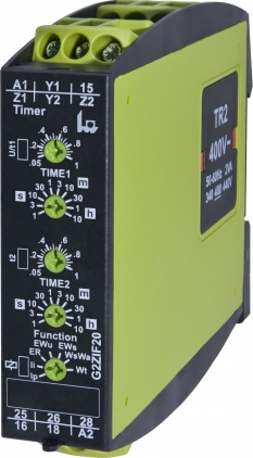 Multifunkční takltovací časové relé s dálkovým ovládáním G2ZIF20