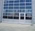 Sekční hliníková vrata