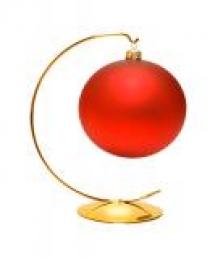 Stojany na vánoční ozdoby
