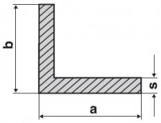 Hliníkové profily L nerovnoramenné