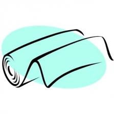 Polyester mikrovlákno potisk