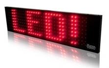 LED panel 1-color (100x25 cm)