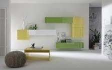 Obývací stěna Element-207 - AUBREY - rozměry 345x41 cm