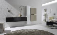 Obývací stěna Element-210 - AUBREY - rozměry 235x31 cm