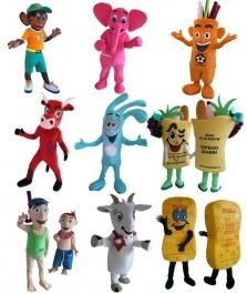 Výroba maskotů