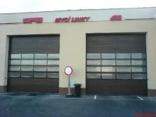 Sekční garážová vrata průmyslová