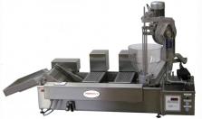 Nová stolová fritéza na výrobu 3 druhou smažených výrobkov.