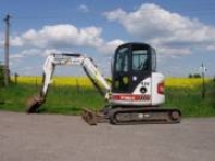 Zemní a demoliční práce malou stavební mechanizací