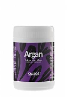 Kallos Argánová maska na farbené vlasy 1000ml