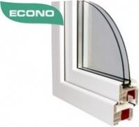Plastové okná Gealan Comfort econo