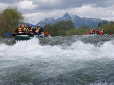 Rafting v Rakúskych Alpách - rieky MOLL a ISEL