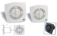 Kúpeľňové a potrubné ventilátory