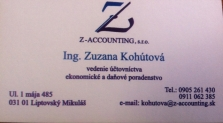 Vedenie účtovníctva - pružne a profesionálne
