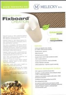 Fixboard creation - papírová deska voštinové konstrukce kpotisku, kašírovaní