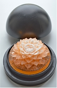 Dekorativní vykrájené mýdlo