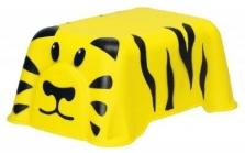 Praktická dětská stolička Curver v motivu tygra
