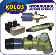 Hydraulické vzduchové ventily (cievky)