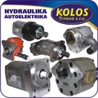 Hydraulické zubové čerpadlá (hydrogenerátory), hydromotory