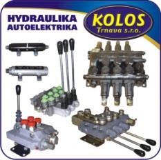 Hydraulické rozvádzače a zámky