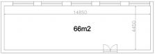 Pronájem 66 m2 výrobních či skladovacích prostor ve Valašském Meziříčí