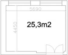 Pronájem 25 m2 výrobních či skladovacích prostor ve Valašském Meziříčí