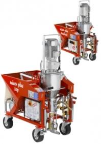 Omietací stroj MIXER PLUS (standard a top)